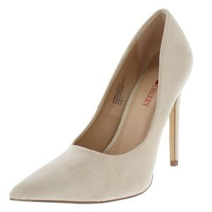 Shoes - New! Nude Casual Pointed Toe Stiletto Heel Pumps